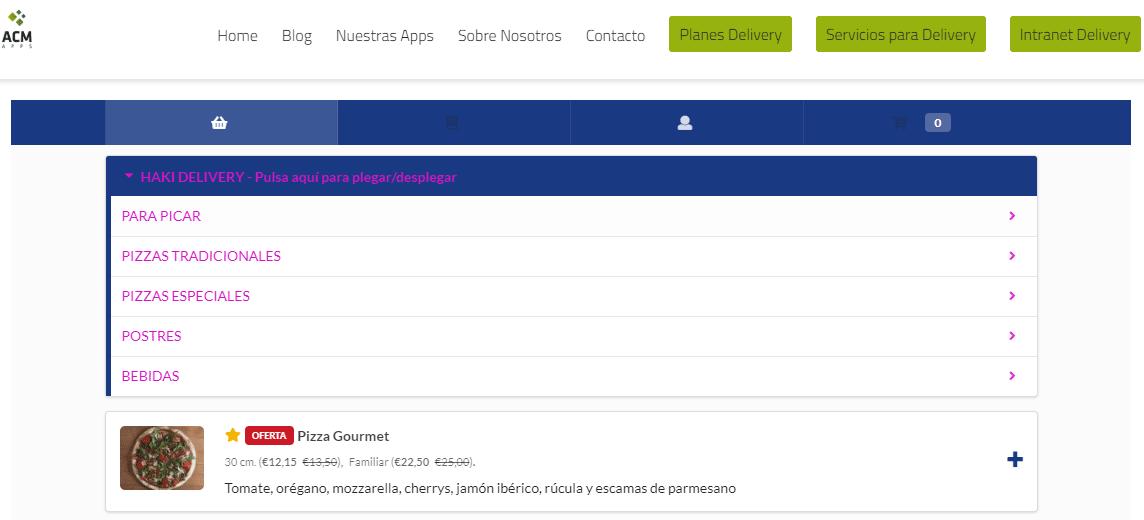 Formulario de recepción de pedidos en tu WEB